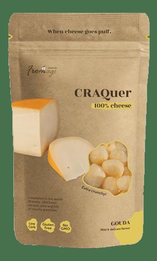 CRAQuer Gouda cheese