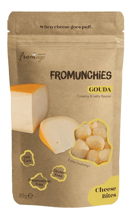 Fromunchies Gouda Cheese Snack De Fromage