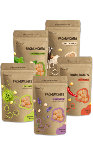 FROMUNCHIES New Flavors